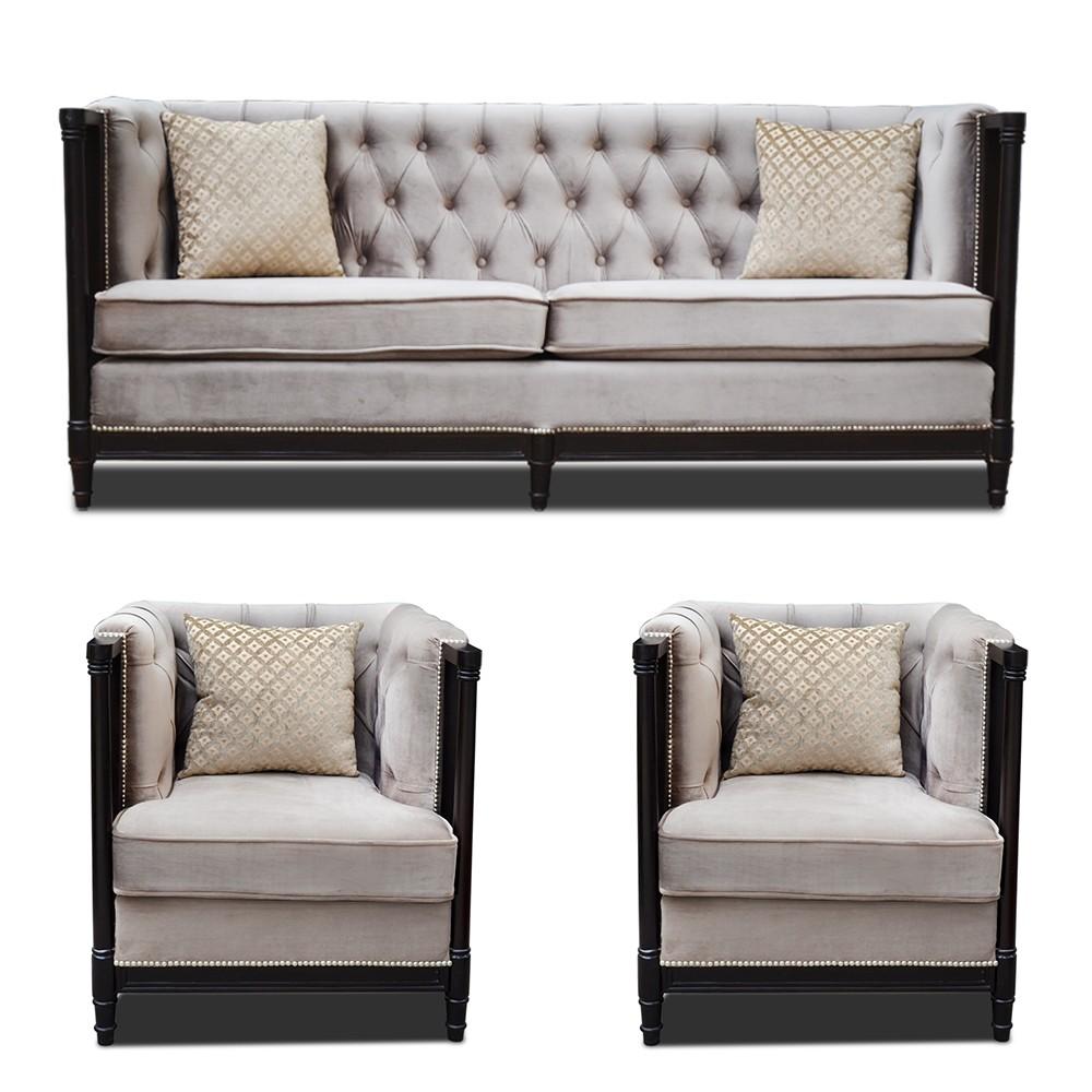 Hamilton sofa Set Gray