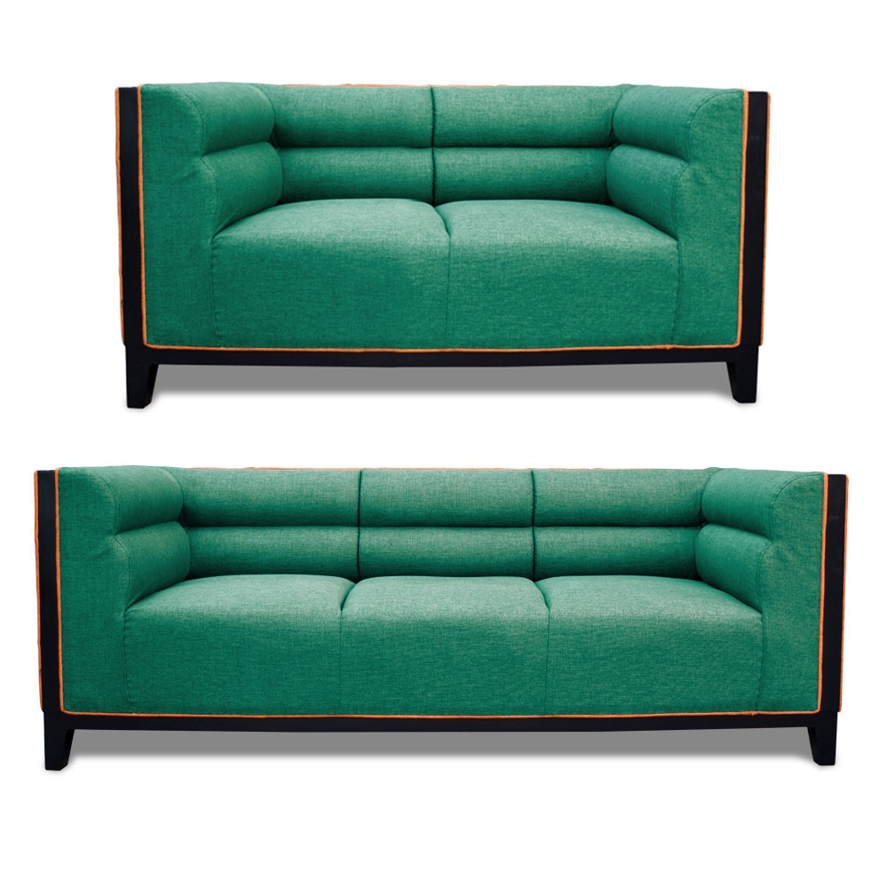Abraxas Sofa Set green 3+2