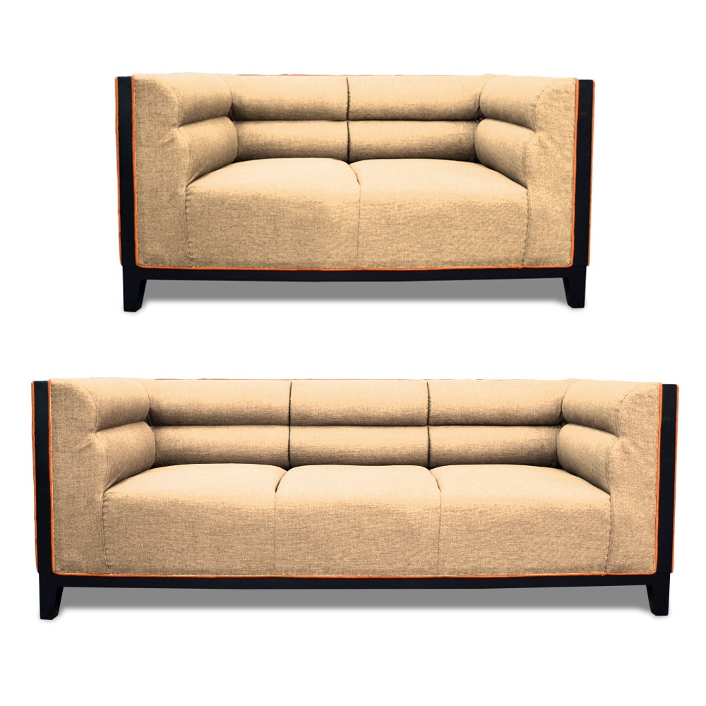 Abraxas Sofa Set cream 3+2