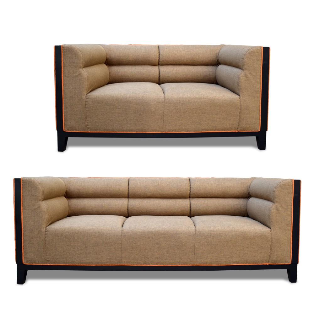 Abraxas Sofa Set Badami 3+2