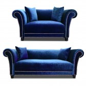 Johann Sofa Set Blue