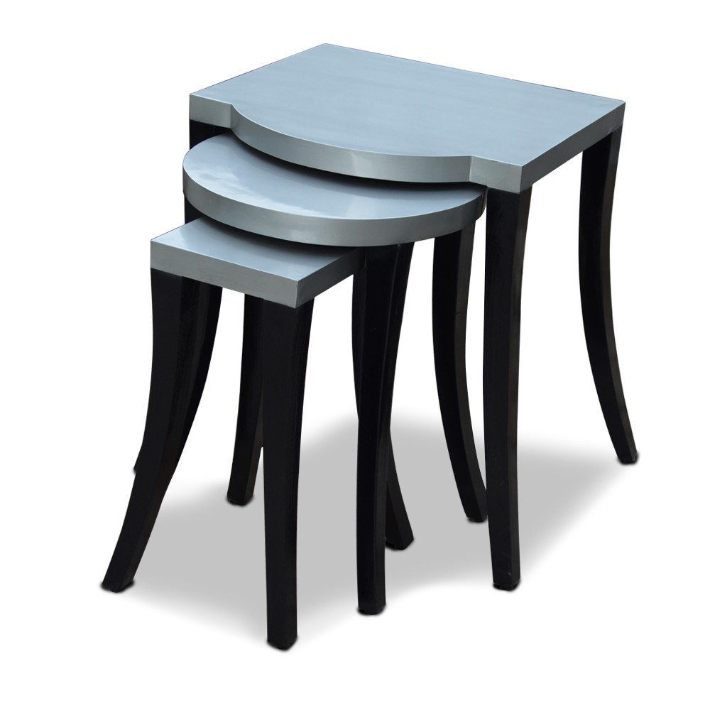Kylie Nesting Tables Grey