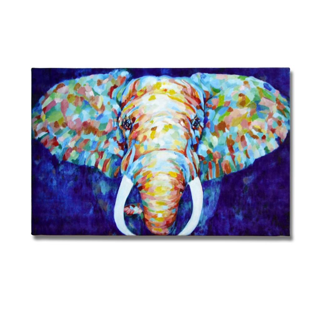 Elephant - Abstract Print