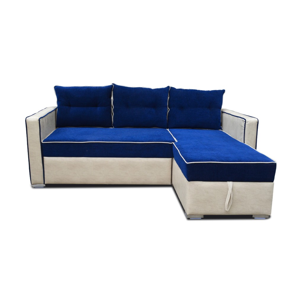Emily Sofa Cum Bed Blue
