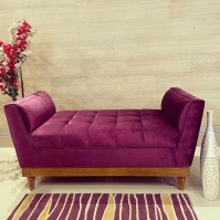 Bristol couch purple