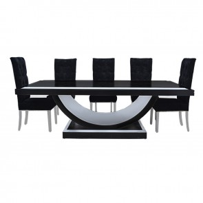 Decorama 8 Seater Dining Table
