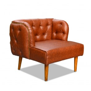 French Empire Chesterfield Occasional Chair