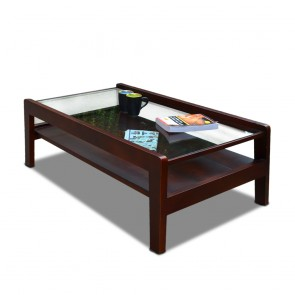 Woodard Glass Top Coffee Table