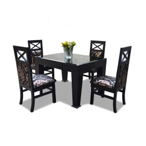 La Rosa 4 Seater Dining Table Set