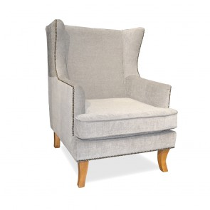 Wing Chair Gray