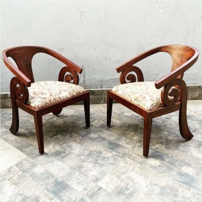 Baro wooden chairs Set 2