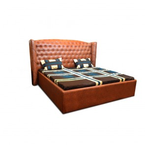 Imperial Upholstered Bed Tan
