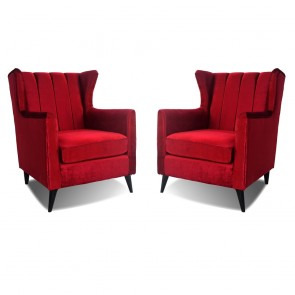 Betty Wing Chair Two Set