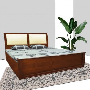 Kaira Solid Wood Bed