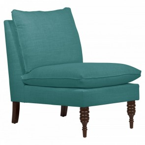 Broadway Accent Chair Teal Blue