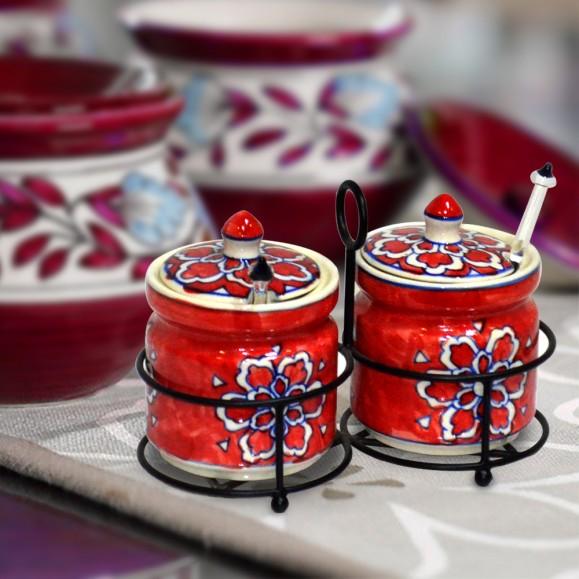 Vedic Pickle Jar Set