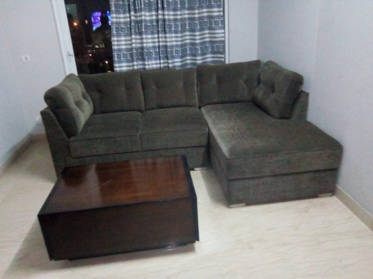 Houston Two Seater Sofa with The Hideout Coffee Table